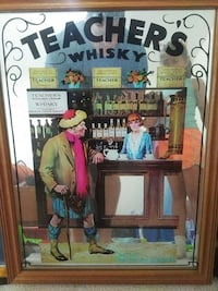 Mirrored whiskey art piece Burlington, L7L 4C2