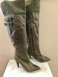 Leather boots size 7.5 Chesapeake, 23323