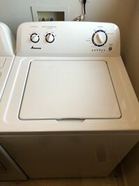 Electric amana washer and dryer