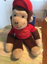 brown and red monkey plush toy Dunedin, 34698