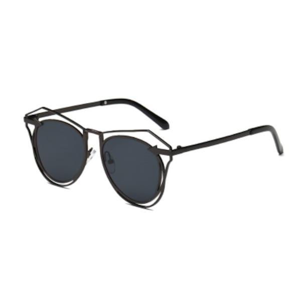 LATZIVA JESSIE LARGE METAL FRAME SUNGLASSES  1