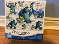 Monsters inc. puzzle. Advanced level. All pieces together