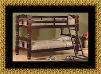 Twin wooden bunkbed frame Bowie, 20716