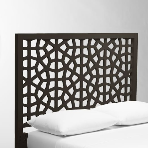 West Elm Morocco Headboard and Simple Frame