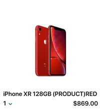Brand NEW iPhone XR 128 gb Mississauga, L5V 1A5