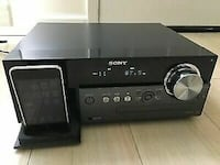 Sony Micro HI-FI Stereo System with iPhone/iPod Cradle Surrey