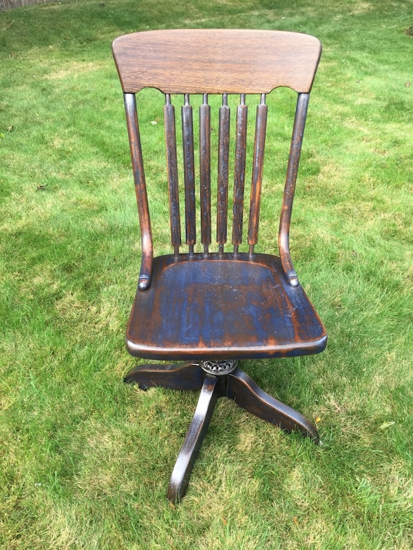 Used Antique Office Chair Ford Johnson Chair Company