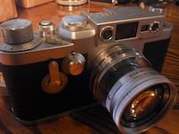 Leica Camera With lens and case