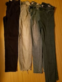 4 jeggings (Bershka, Kenneth cole etc) Edmonton, T6H 3J6