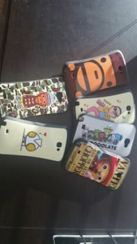 Note and Galaxy phone covers. $5/each or $10/all Burnaby, V3N