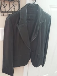Context Womens Black Leather Jacket Rocky Point, 28457