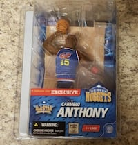 McFarlane Toys NBA Exclusive Carmelo Anthony Nugge