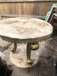 Negotiable marble table for the side  Toronto, M1P 2P5