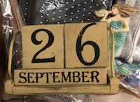 Mermaid block calendar  Oakton, 22124