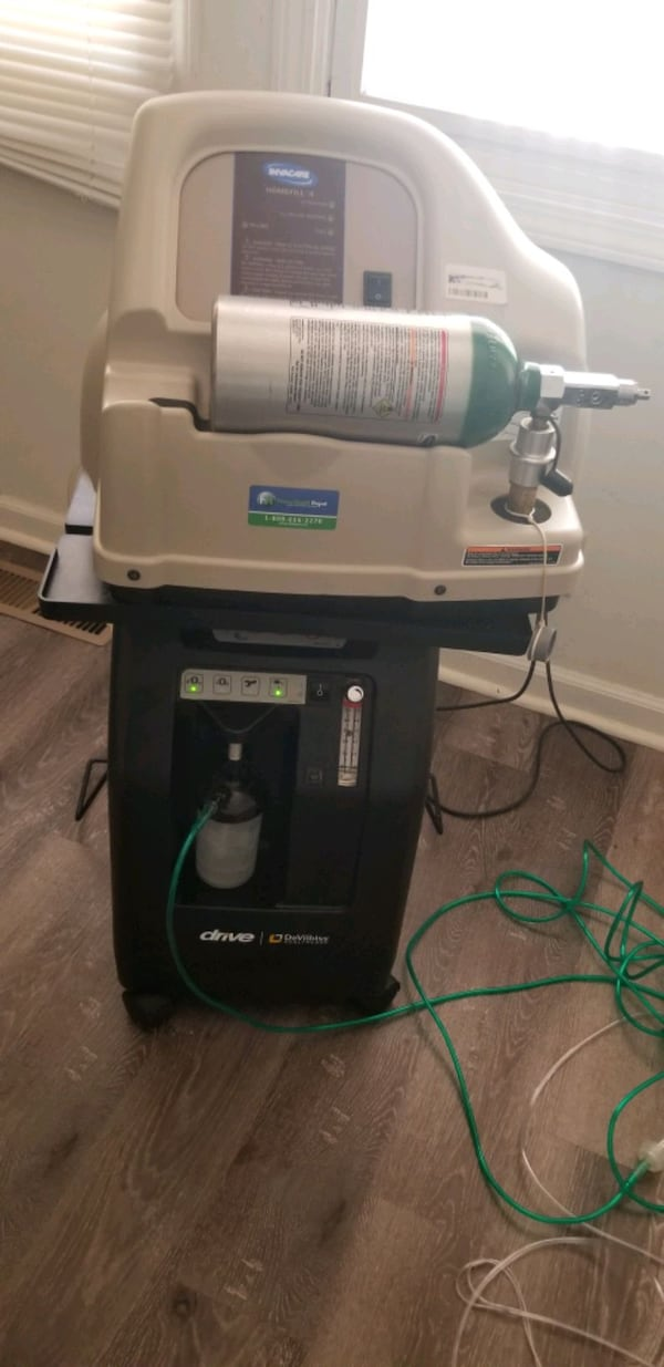 Invacare HomeFill Compressor IOH200 - Pre owned 2