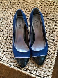Blue and black Rialto heels - size 7.5 Chicago, 60647