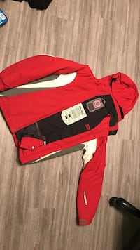 red and black zip-up jacket Victoria, V9A 0A4
