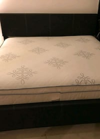 Brand New King Size Leather Bed +Pillowtop Mattres Silver Spring, 20902