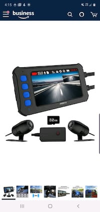 Motorcycle Dash Camera, IP67, 1080P, 3-inch IPS Screen NEW 1/2 PRICE