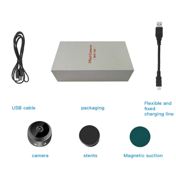 New Spy Camera 1080P Video Recorder Wireless IP Mini Cameras hidden camera  Ultra small Camera WiFi Remote View home security cam Mini Security