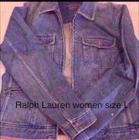 Ralph Lauren denim size L women Kenosha, 53144
