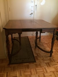 Antique wooden dining table. Mint condition