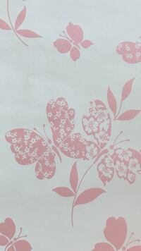 Tapet Laura Ashley Cloudywing Pink