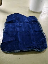 blue and black fabric cover Vancouver, V6B 1C5