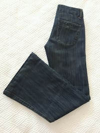 VINTAGE TYPE FITTED WIDE LEG JEANS LOW-MID RISE 26 Toronto, M6B 2A2