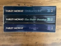 Farley Mowat - Top of the World Trilogy Box Set Paperback Books Aurora, L4G 3K4