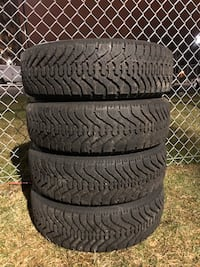 185/70R14 winter Goodyear tires with 90% tread 541 km