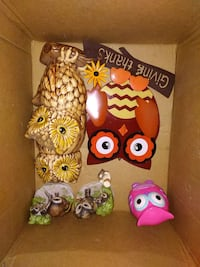 Some vintage and 2 newer owl decor Saint Marys, 26170