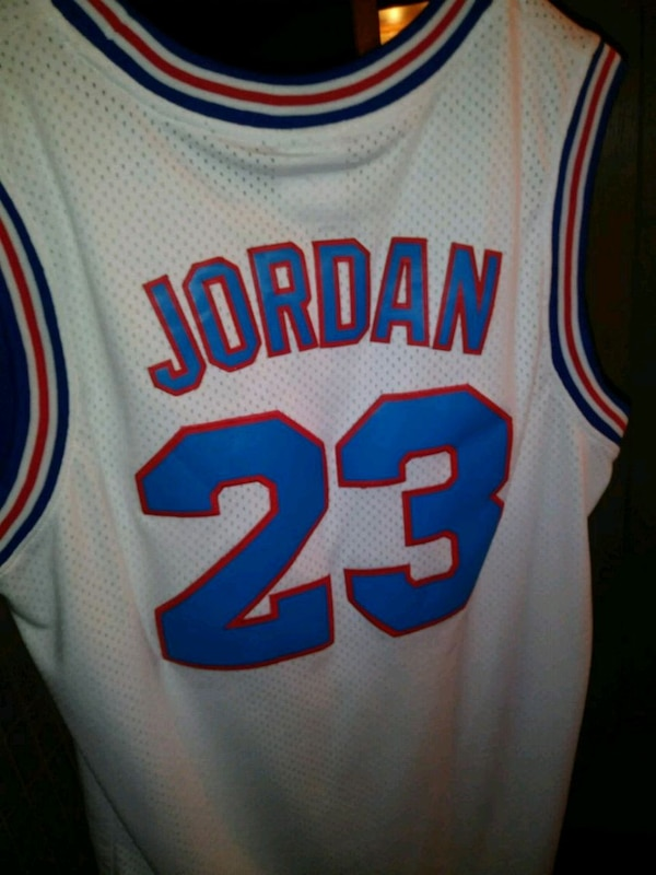 new product 4008d f910e Used Space Jam TuneSquad MJ Jersey for sale in North Fort ...