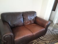 Two Seater Leather Couch Melville, 11747