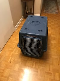 Dog cage  almost new I have used it for a month, I bought it for 100$ + tax