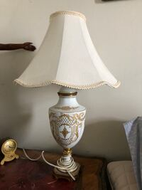 Antique hand painted Limoges lamp Toronto, M2R 3N1