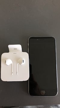 space gray iPhone 6 with Apple EarPods Surrey, V3W 6E4