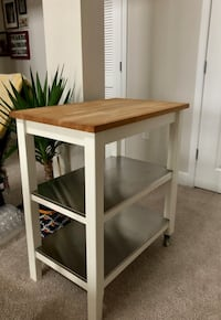 Kitchen Serving Table/ Bar Cart Dulles