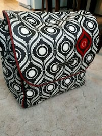 black and white paisley print textile Calgary, T1Y 1A9