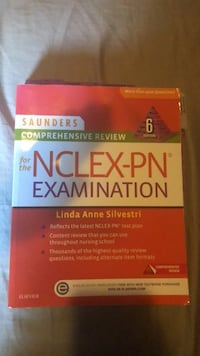 NCLEX exam review book   Mississauga, L5A 2G7