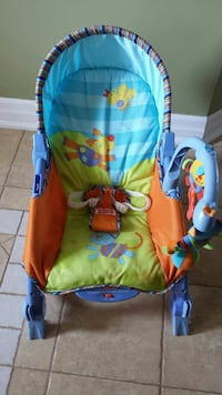 baby's multicolored Fisher-Price bouncer Innisfil, L9S 1V1