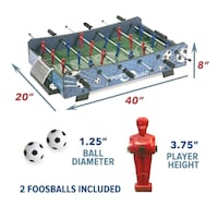 Table Foosball Brand New In Box