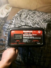 Moto master battery charger& jumper cables