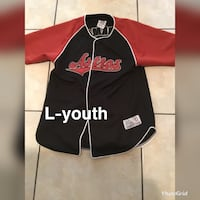 black and red Adidas zip-up jacket Brownsville, 78521