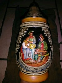 Vintage German Beer Stein San Antonio, 78247