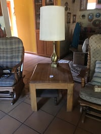 Side table and lamp  Auburn, 95603