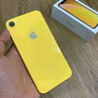 Brand new yellow iPhone xr 256gb