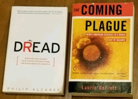 "2 Books : ""Dread"" and ""The Coming Plague"""