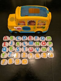 ABC and Numbers Learning Bus
