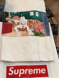 Brand new White Supreme Bedroom Tshirt size Xlarge Silver Spring, 20902
